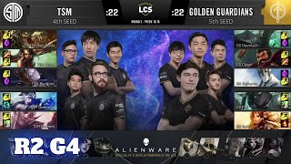 Golden Guardians vs TSM - Game 4 | Round 2 Playoffs S10 LCS Summer 2020 | GG vs TSM G4