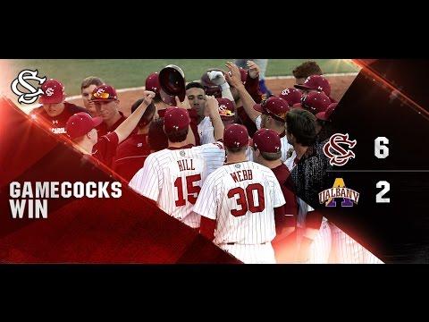 HIGHLIGHTS: Baseball vs. Albany - 2/20/16