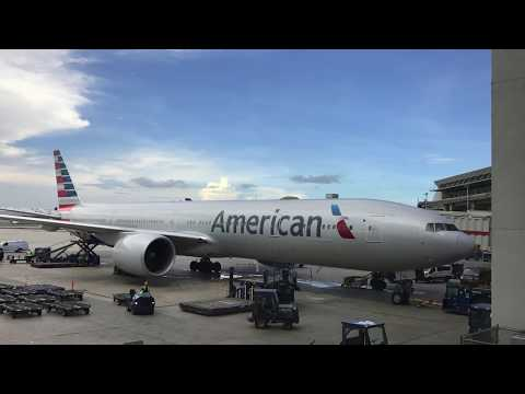 Miami To London Heathrow On American Airlines 777-300 Business Class MIA To LHR
