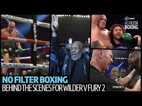 Wilder v Fury 2 fight night episode | Unseen footage from behind the scenes with No Filter Boxing