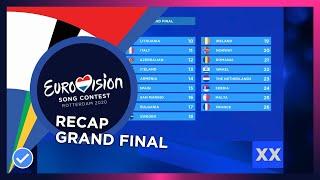 OUR ESC 2020: Grand Final recap | VOTING IS CLOSED