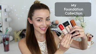 My Makeup Stash- Foundations!