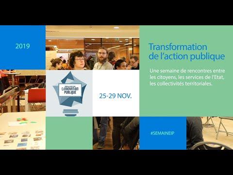 Semaine de l'Innovation Publique en Nouvelle Aquitaine
