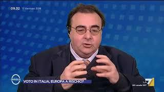Giannuli a Paolo Diop (Movimento Nazionalista): Lo invidio, per la sua linea...