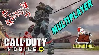Call of Duty Mobile Multiplayer LIVE | Ranked Match - COD Mobile #118