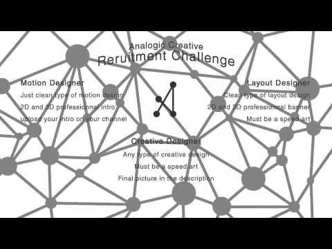 Analogic Creative Recruitment Challenge ! - ENDED