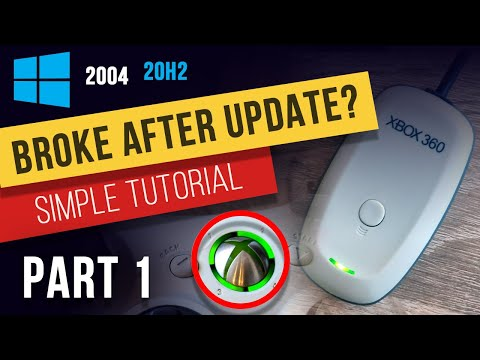 2004 Windows Update - How To Install Drivers For Xbox 360 Chinese Wireless Receiver (Code 28)