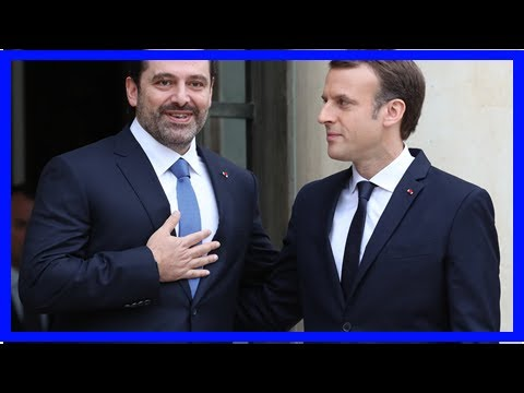 Daily News - After the meeting, hariri said macron will clarify the position in Lebanon