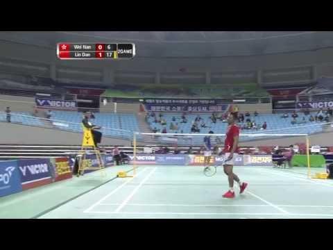 [HD] QF - MS - Lin Dan vs Wei Nan - 2014 Badminton Asia Championships
