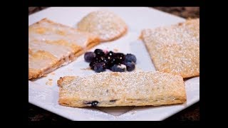 Homemade Pop-Tarts 3 Flavors | Rookie With A Cookie