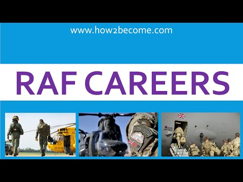 RAF Careers - What Careers Are There In The RAF?