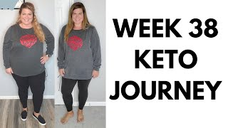 WeeK 38 Keto Journey Keto Diet Before After Beef and Butter Fast Weight Loss Inspiration