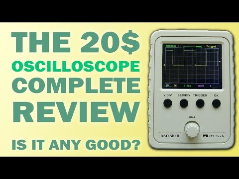 Product Review: JYE Tech DSO150 Oscilloscope for 20$