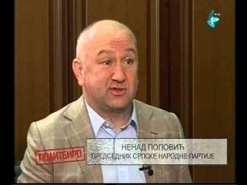 Nenad Popović u Politbirou RTV