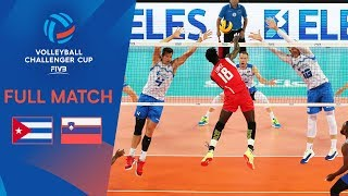 Cuba vs Slovenia | Final - Full Match | 2019 FIVB Men's Volleyball Challenger Cup