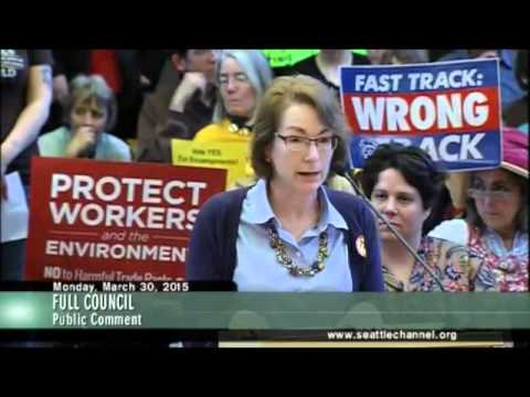 Seattle City Council and Fast Tracking the TransPacific Partnership