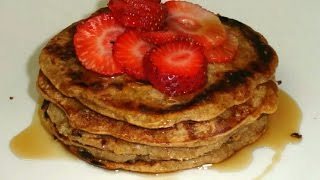 Pancakes De Avena Y Quinoa-marielsvlog