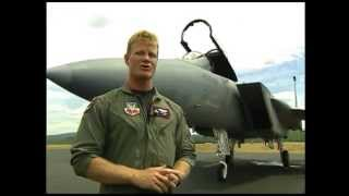 F-15 Eagle Tour and Aerial Demonstration