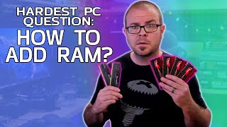 How do I upgrade from 2 sticks of RAM to 4? - Probing Paul #50