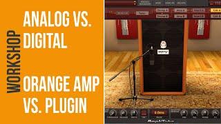 Orange Bass Amp VS. Orange Software Plugin (no talking)