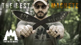 Cold Steel Kukrie Machette | FITW Gear Review | Fort In The Woods