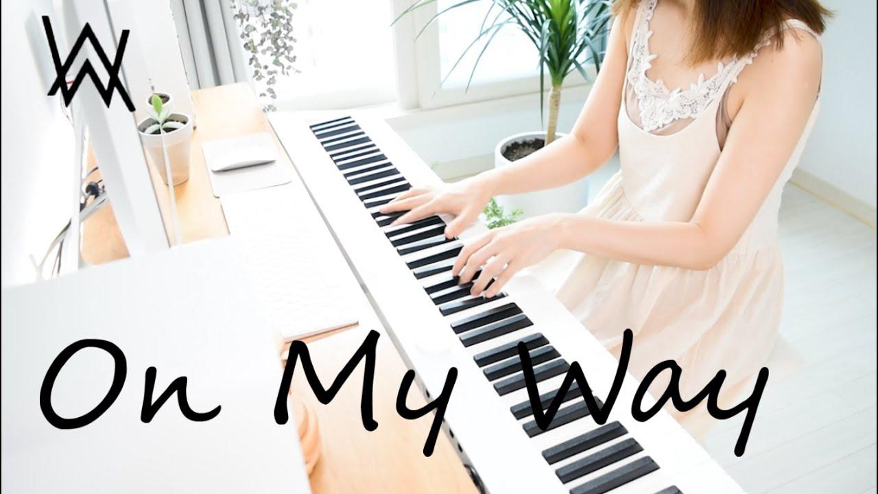 Alan Walker | On My Way | Piano cover/Sheet - YouTube