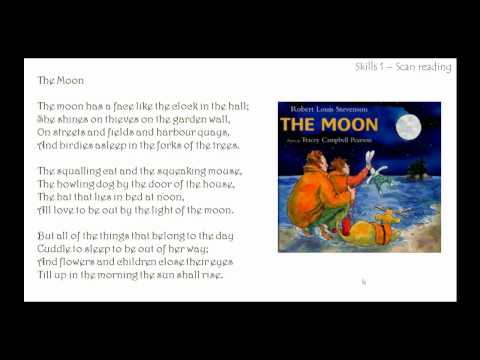 Learn English Online - Reading Comprehension - The Moon