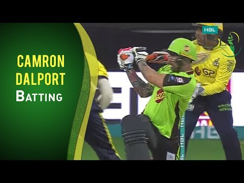 PSL 2017 Match 16: Camron Dalport hits 22 off Mohammad Asghar over