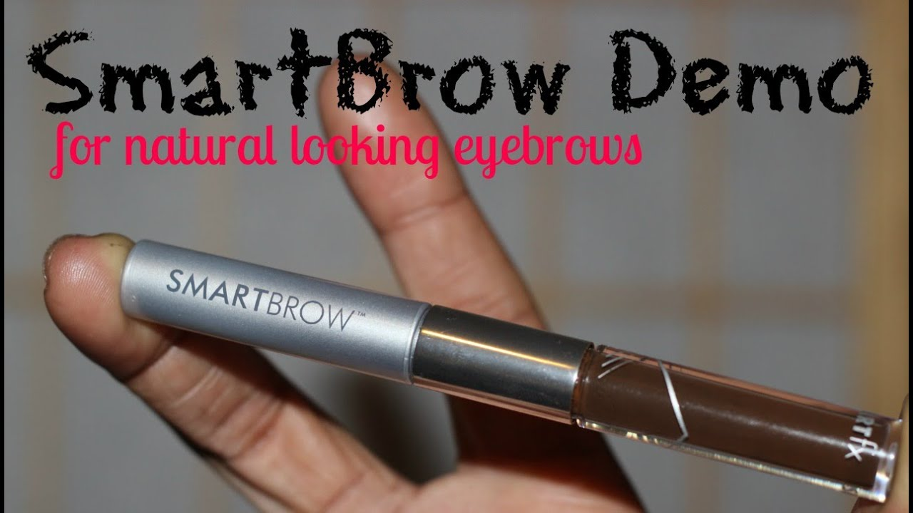 Demonstration Of Smartbrow Filler For Natural Looking Brows Vlog