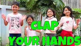 Clap Your Hands Action Song with Lyrics