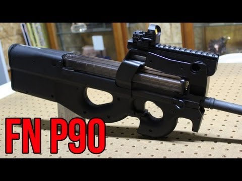 FN P90 closer look & First Impressions with champion shooter, Jerry Miculek