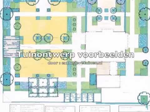 Tuinontwerp ron den dikken exclusieve for Tuinontwerp door studenten