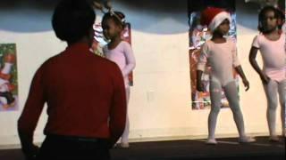 Laurel-Mt Nebo Holiday Program-Ballet Class-Dec 8, 2011.MPG