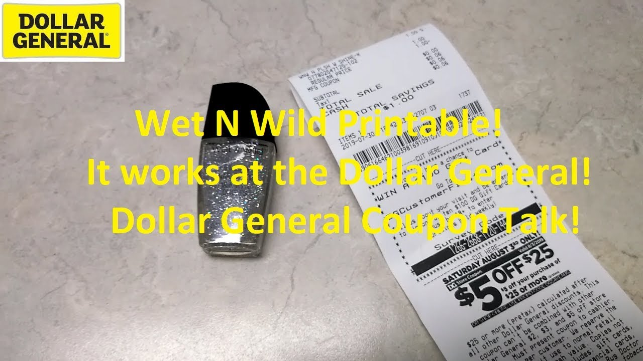 photograph regarding Wet N Wild Printable Coupon named Soaked N Wild Printable Performs at Greenback Over-all! Couponing Communicate!