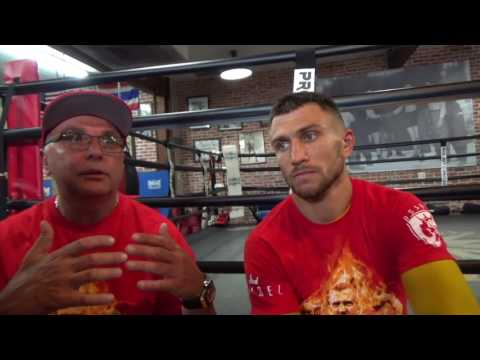 VASYL LOMACHENKO ON JORGE LINARES v LUKE CAMPBELL & SPECULATION REGARDING GUILLERMO RIGONDEAUX