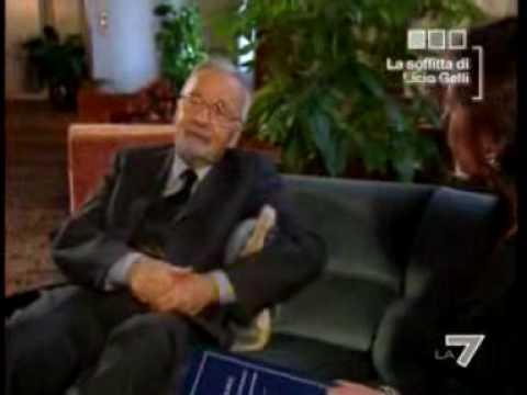 INTERVISTA A LICIO GELLI FONDATORE DELLA LOGGIA MASSONICA P2 - parte1