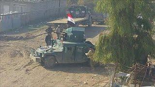 Les forces irakiennes à l'offensive à Mossoul