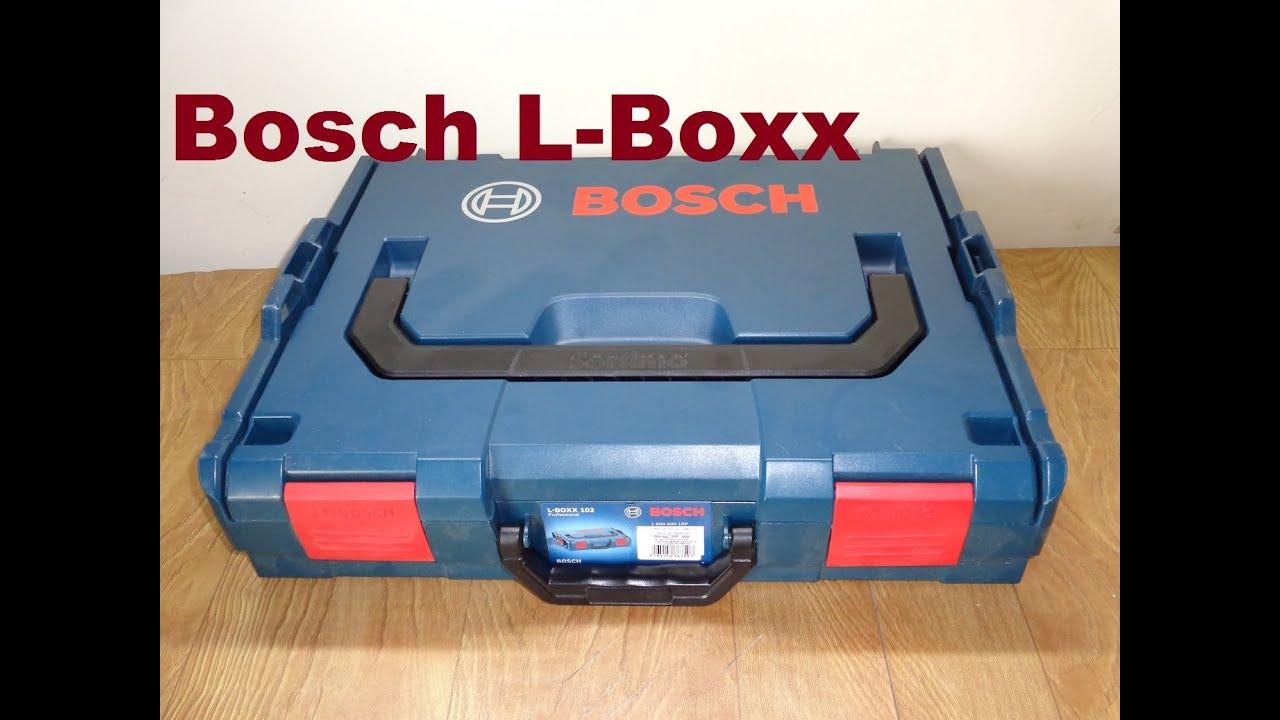 uma maleta diferente bosch l boxx youtube. Black Bedroom Furniture Sets. Home Design Ideas