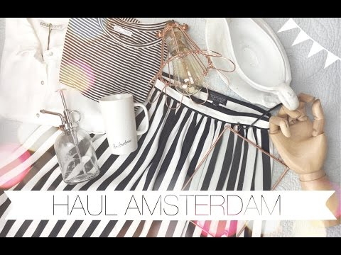 HAUL: Shopping a Amsterdam {TOP SHOP, STARBUCKS, ZARA}