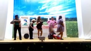 Шуточный танец 'В автобусе'