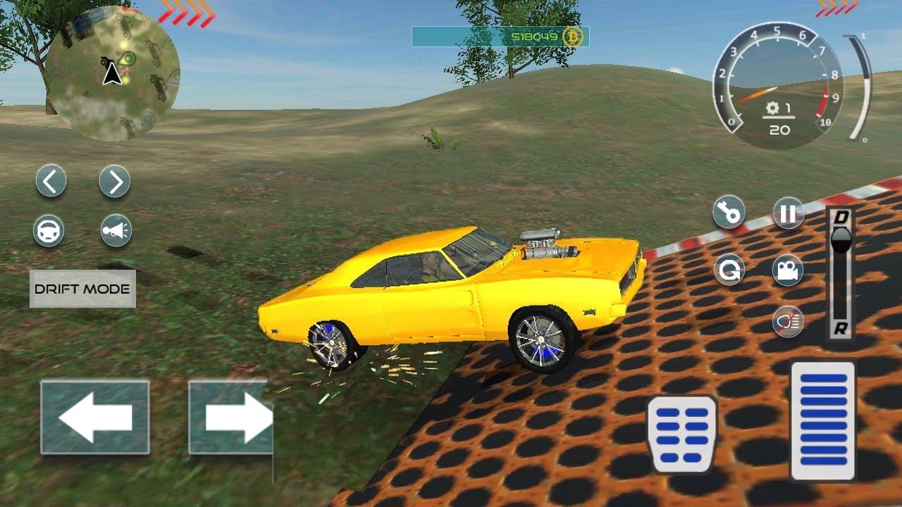 American Muscle Car Driving Simulator Game 2018 Car Racing Games