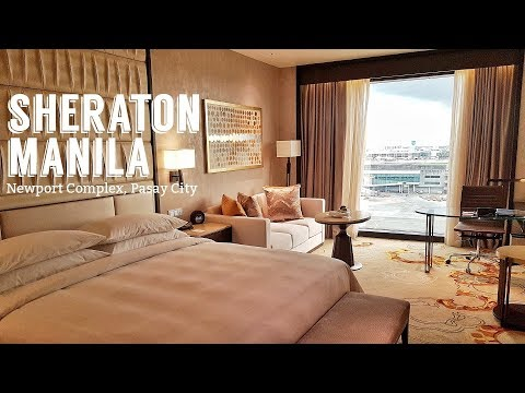A Tour of Sheraton Manila Hotel   WELCOME TO STAY