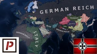 Hearts Of Iron Iv - Fascist Germany Destroyed Allies In 1939  Timelapse/speedrun