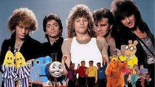 """ABC for Kids Characters Sing """"Livin' on a Prayer"""" by Bon Jovi"""