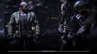 Mortal Kombat X - Jason Voorhees vs. Alien and Predator