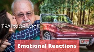 Top 5 car surprises | Parents reaction to son restoring their 45 year old car