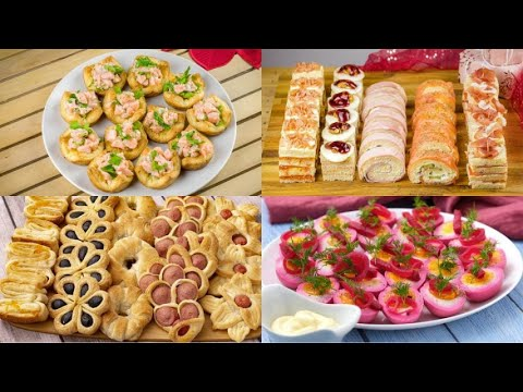 Do you want to impress your guests Prepare an aperitif following these spectacular recipes