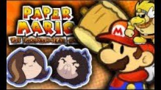 Game Grumps - Paper Mario TTYD - Rawk Hawk Voice