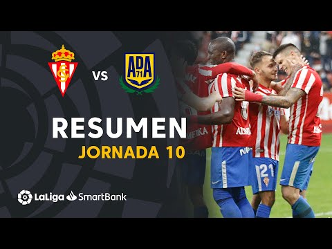 Gijon Alcorcón Goals And Highlights