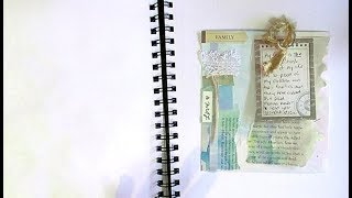 Table Scraps for Art Journal pages